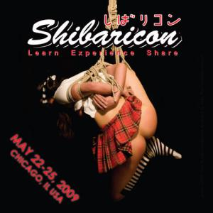 Shibaricon flyer. Image of Kyin (c) 2008 PattiB
