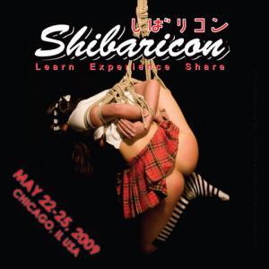Shibaricon flyer. Image of Kyin (c) 2008 PattiB